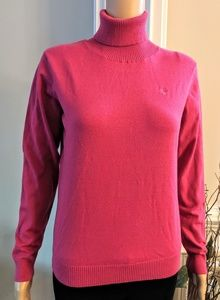 Lilly Pulitzer Fushia Turtleneck Sweater Size M